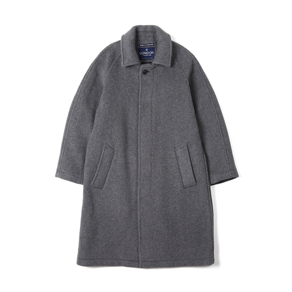 "LONDON TRADITION Mens R06 Fly Front Coat ""Light Grey"""