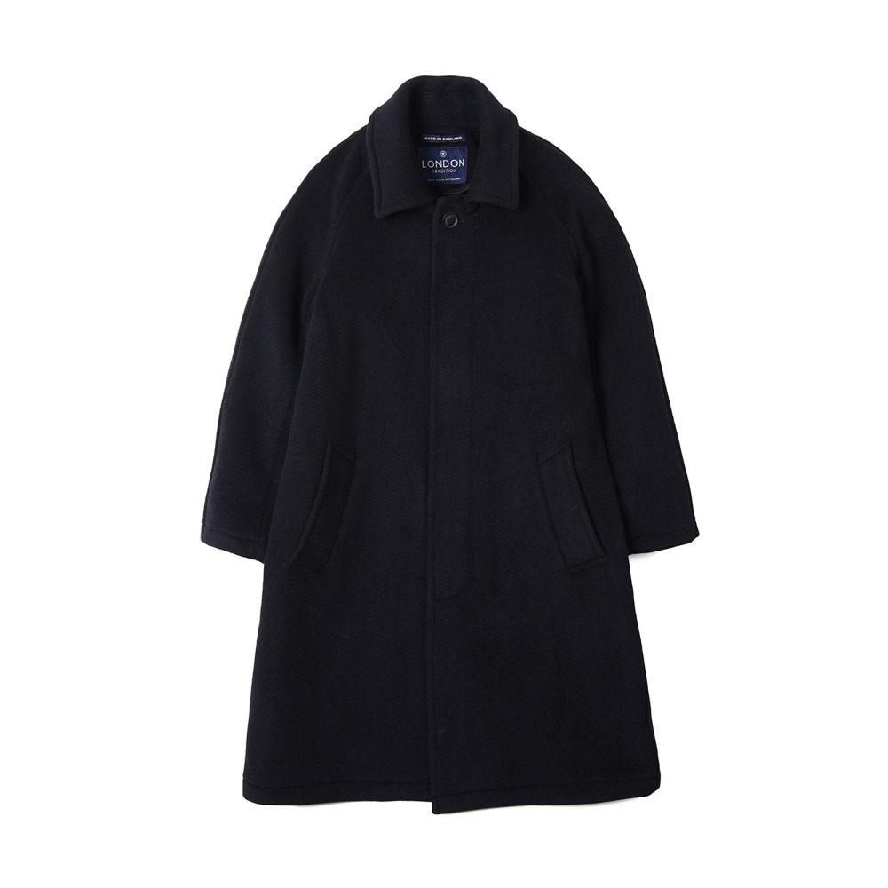 "LONDON TRADITION Mens R06 Fly Front Coat ""Navy SSB"""