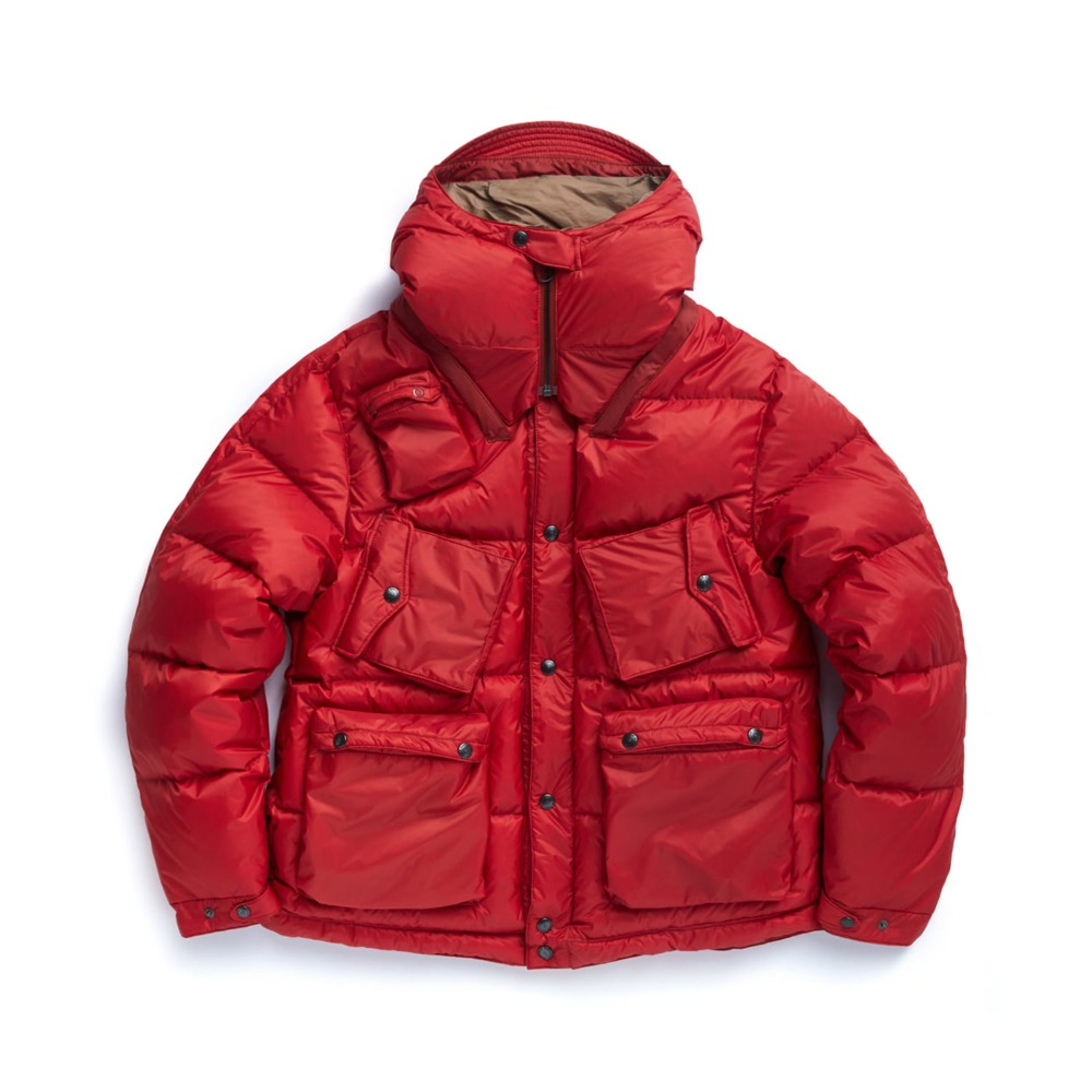 "EASTLOGUE C-1 Down Parka ""Red Quantum"""