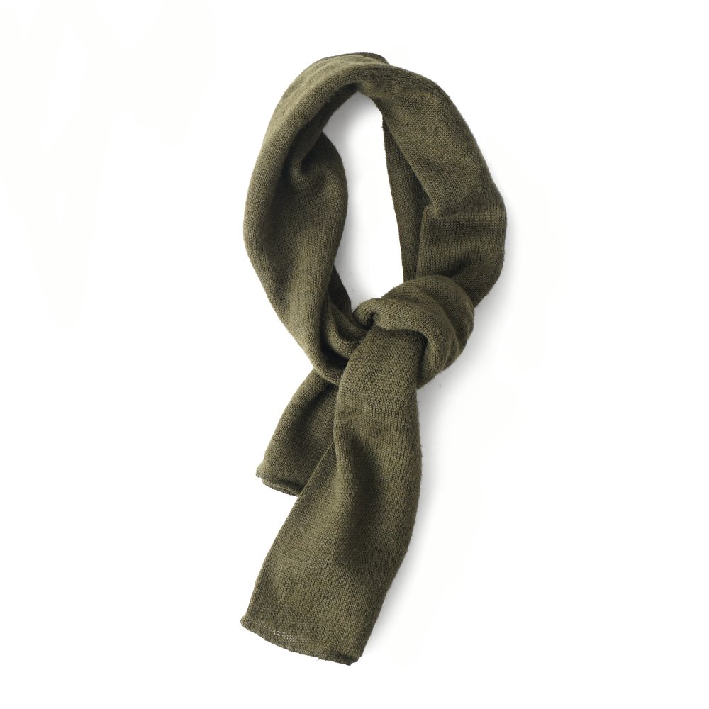 "YMCL KY US Wool Scarf Olive ""Dead Stock"""