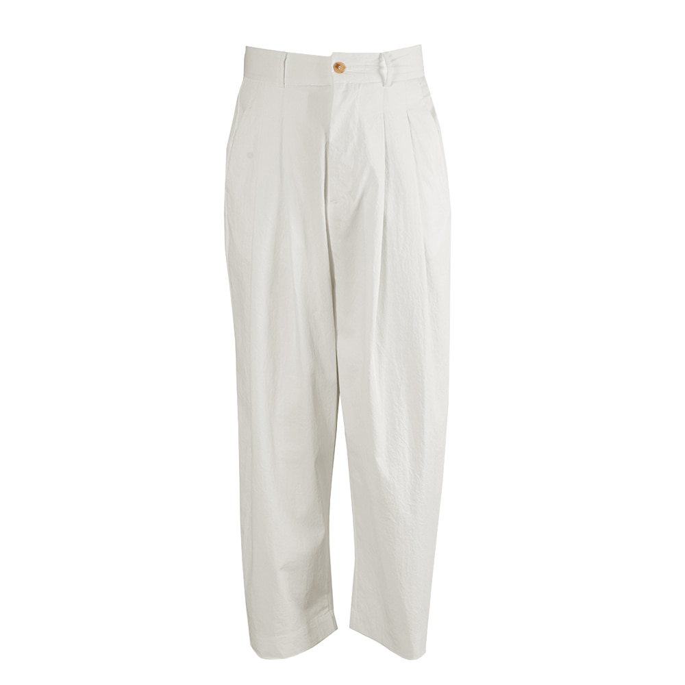 "OOPARTS wide-leg long pants ""White"""